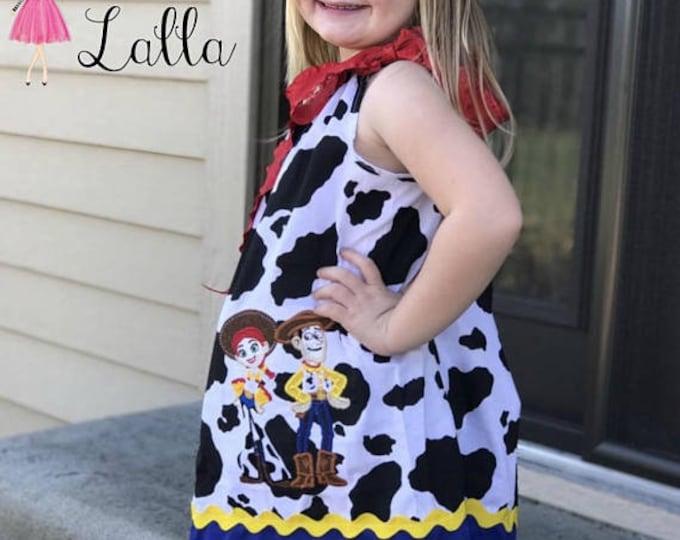Jessie Toy Story Cow Print Pillowcase Dress