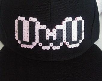 8-Bit Perler UwU / OwO Snapback