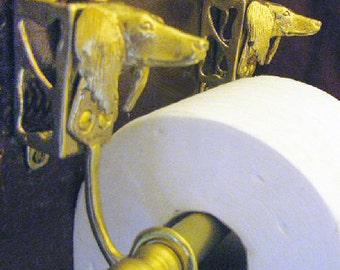 Solid Bronze Toilet Tissue Holder Custom Order