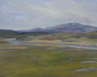 Original Landscape Oil Painting 11x14