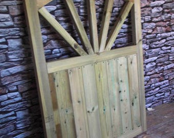 Sunshine Style Garden Gate - 3FT H