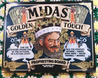 1987 Midas Golden Touch Prophesying Board (Canadian Quija Board)