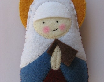 Saint Anne Felt Saint Softie