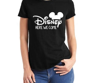 Disney here we come Family shirts/ Mickey