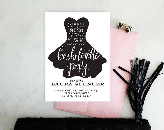 PRINTABLE Bachelorette Party Invitation | LBD