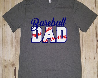 Baseball Dad Tee, Baseball Dad Shirt, Gifts For Dad, Baseball Dad, Baseball