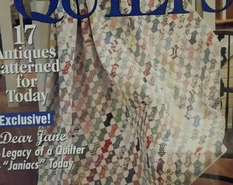 McCall's Quilting Vintage Quilts Magazine Spring 2001