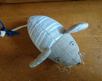 "Toy mouse ""Sourikiki"" fabric"