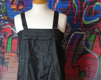 Vintage black summer 1990's vest top / tank top