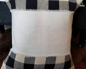 Blank Pillow Wrap, Canvas Pillow Wrap, HTV Pillow Wrap, Blank Canvas PIllow Wrap, Blank Pillow Sleeve, Bulk Pillow Wraps