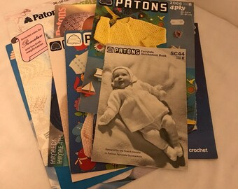 Patons Beehive Knitting Patterns / Vintage Knitting Patterns / Vintage Crochet Patterns / Baby Knitting Patterns / Baby Crochet Patterns
