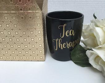 Herbal Tea and Teacup