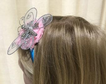 Girl's Butterfly Headband
