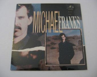 Factory Sealed!  Michael Franks - The Camera Never Lies - Circa 1987