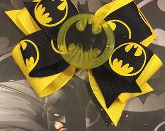 Batman Bow (Free Shipping in US)