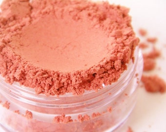 SAMPLE Peachy-All Natural Mineral Blush (Vegan)