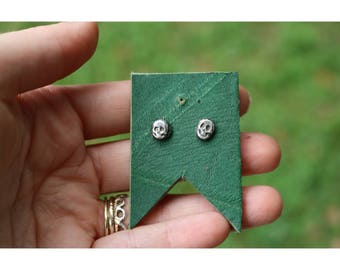 Haunted Relics- Sterling Silver Skull Studs