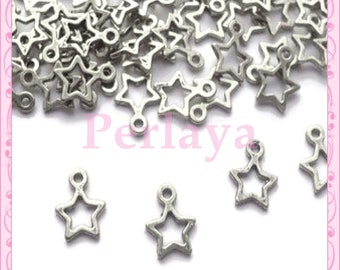 Set of 100 stars REF2282 charms