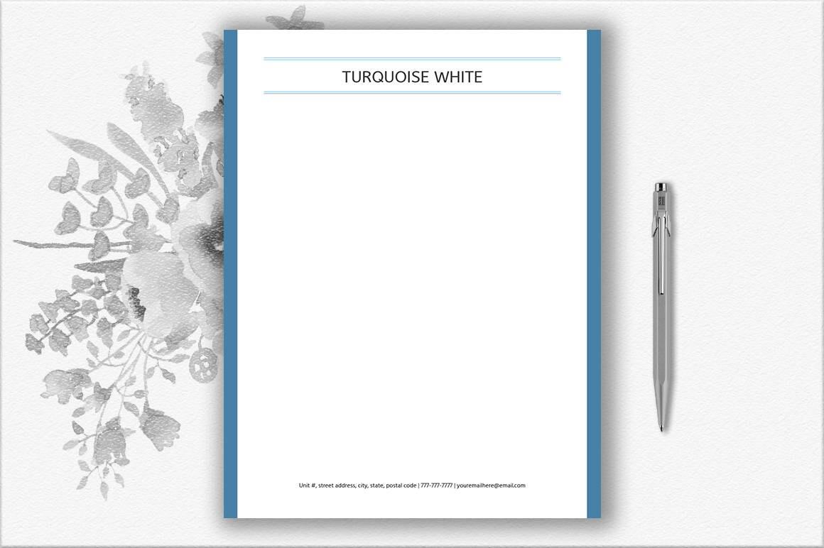 Papelería papel plantilla imprimible Diseño de papelería