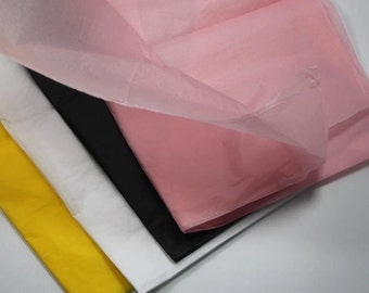 7 sheets of tissue paper pink 50 cm x 70 cm