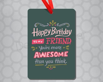 Awesome Friend Magnet & Ornament