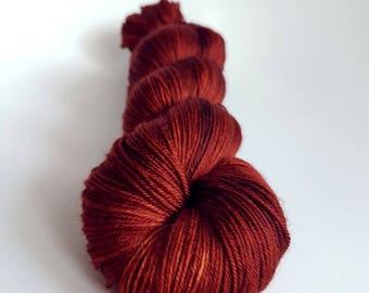 Skein of Merino superwash wool - Fingering / Sock - secondary color