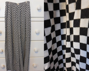 80s 90s Punk Ska Checkered Gaucho Pants