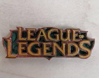3d print hand-painted magnet League of Legends