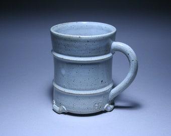 Mug with white glaze