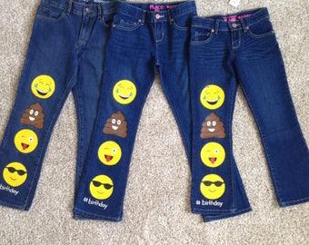 Emojie baby/toddler/kids Jeans