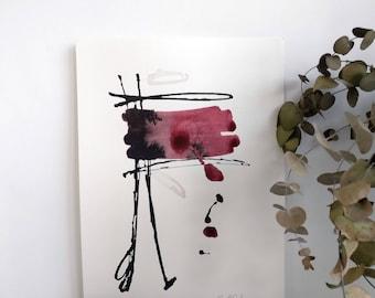 Black garnet red