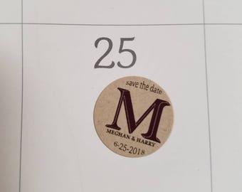 Save the Date Calendar Sticker