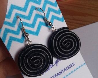 Liquorice earrings