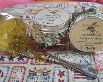 Dorothy's Jalapeno Jelly - All Natural and So Very Delicious