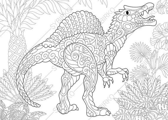 spinosaurus dinosaur dino coloring pages animal coloring. Black Bedroom Furniture Sets. Home Design Ideas
