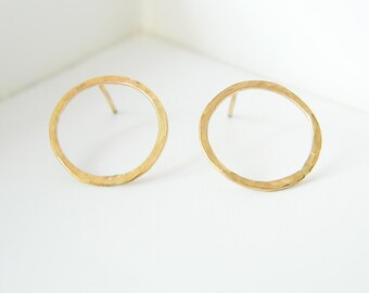 Gold Stud Earrings, Circle Earrings, Hoop Earrings, Gold Hoop Earrings, Gold Circle Earrings, Silver Hoop Earrings, Dainty Gold Earrings