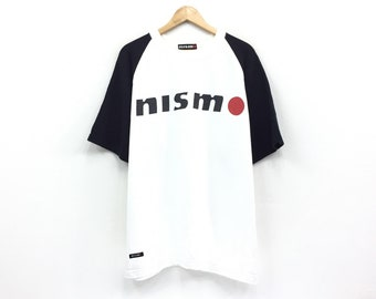Rare!!Vintage Nissan Nismo Sweatshirt Motorsport Racing Team Sweatshirt pullover Jumper Biglogo