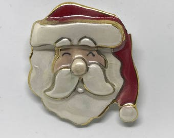 Santa face raises money for Toys for Tots