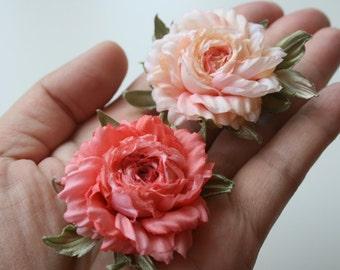 Silk flower rose corsage flower silk flower brooch birthday silk flower rose corsage flower silk flower brooch birthday gift for her floral mightylinksfo