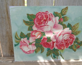 Cottage Sabby Chic Style Acrylic Hand Painted by Number