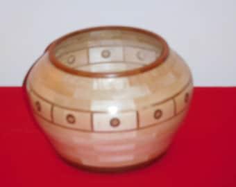 Maple and Cherry Segmented Bowl