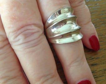 Sterling Silver Modern Ring