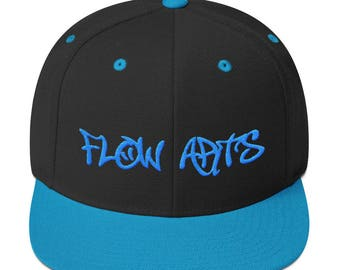 Flow Arts - Embroidery - Snapback Hat