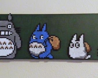 My Neighbor Totoro Perler Art