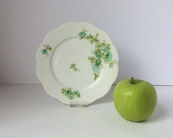 7 1/2 inch round Limoges plate by Coronet