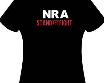 NRA Stand and Fight, NRA, Fathers Day Gift, Gift ideas for guys, Christmas Gift for Guys