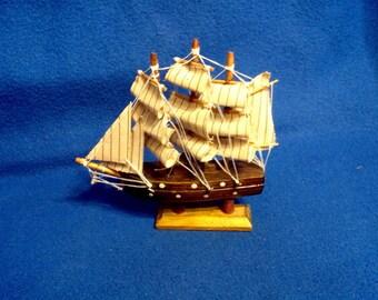A 3 Mast Model Ship