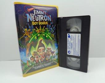 Jimmy Neutron Boy Genius VHS