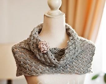 Crochet PATTERN - Lace Cowl