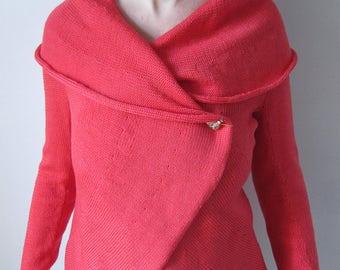 knitted women's cardigan wrap, Knit Jacket